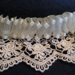 lace hatband detail