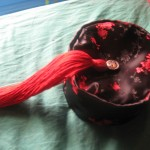 Brocade Smoking Cap