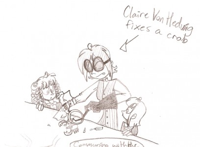 Claire cartoon